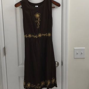 Dress from Bali Brown Size S